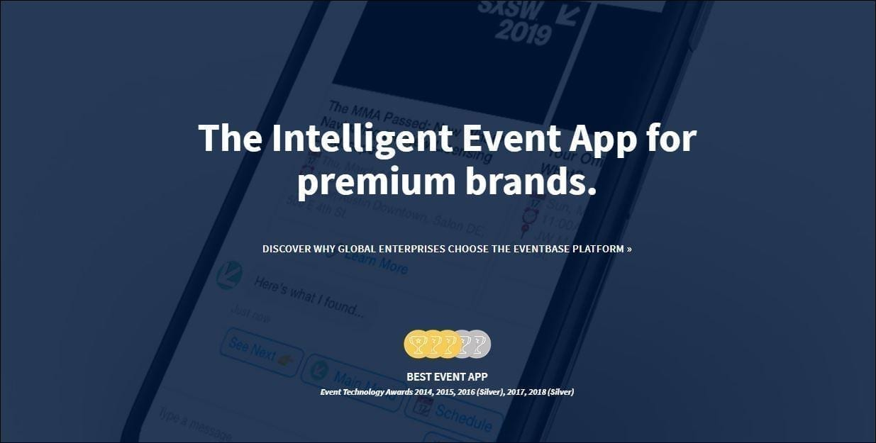 Best event apps: EventBase.